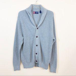 Chaps | Gray Preppy Sweater